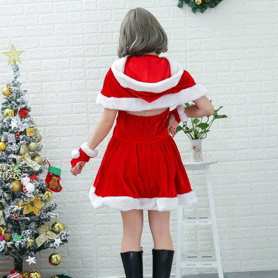 2019xmasフレンチヴィーナスサンタクリスマスサンタクロースハロウィンコスプレ
