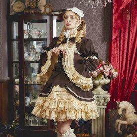 ハロウィン コスプレ ロリータ ワンピース セーラー リボン 姫袖 衣装 フルセット 仮装 衣装 コスチューム こすぷれ コス おすすめ 可愛い 男ウケ セクシー 大きいサイズ 大人 レディース あす楽 ハロウィンコスプレ