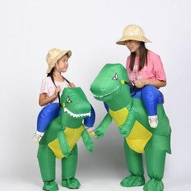 ふくらむ恐竜ライダー コスプレ 衣装 ハロウィン 仮装 インフレータブルコスチューム inflatable costumeパーティーグッズ おもしろ 面白い 着ぐるみ 大人用 きぐるみ 空気で膨らむ エアブロー おもしろ着ぐるみ おもしろい おもしろコスチューム 余興 笑える