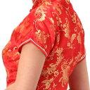 チャイナドレス コスプレ ロング ショート パーティ S〜9Lサイズまで 11サイズもあり 半袖 c15【dl_bodyline】 衣装