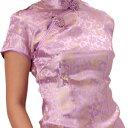 チャイナドレス コスプレ ロング ショート パーティ S〜9Lサイズまで 11サイズもあり 半袖 d02【dl_bodyline】 衣装