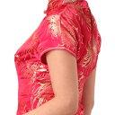 チャイナドレス コスプレ ロング ショート パーティ S〜9Lサイズまで 11サイズもあり 半袖 e01
