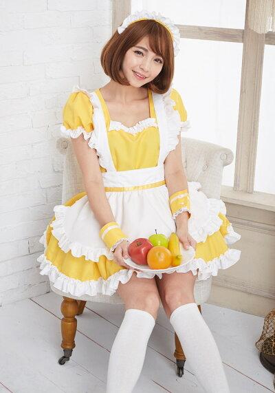 コスプレメイドベロニクメイド衣装コスチュームアリス大人用M〜2Lサイズあり7色展開4点セットcostume412衣装