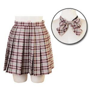 リボン付チェックスカート コスプレ セーラー服 制服 女子高生 ブレザー M〜2Lサイズあり 2点セット costume657 衣装