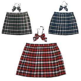 コスプレ スクールスカート 女子高生 通学 大きいサイズ プリーツ プリーツスカート コスプレ セーラー服 制服 女子高生 ブレザー 6L〜8Lサイズあり 3色展開 2点セット セクシー こすぷれ costume808 衣装