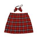 店内50%OFF〜開催中♪ スクールスカート コスプレ セーラー服 制服 女子高生 ブレザー スカート 6L〜8Lサイズあり 2点セット costume809