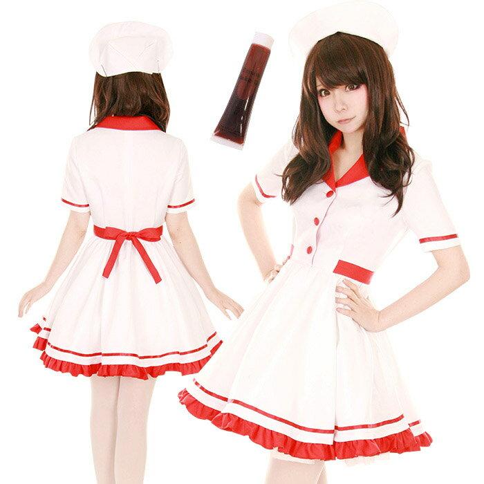 女医 ナース 3点セット M〜2Lサイズあり costume851 衣装