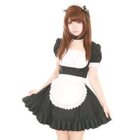 メイドコスチューム コスプレ メイド 衣装 アリス 大人用 ロリータ M〜2Lサイズあり 3点セット costume860 衣装