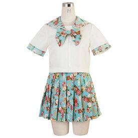 コスプレ セクシー セーラー服 セーラー シャツ スカート リボン 大きいサイズ M L 2L こすぷれ 衣装 costume1022