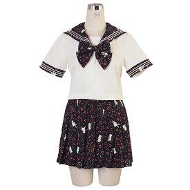 コスプレ セーラー服 セーラー スカート リボン 大きいサイズ M L 2L セクシー こすぷれ costume1023 衣装