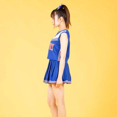 チアリーダーコスプレ衣装コスプレ衣装制服大人用M〜Lサイズあり2色展開4点セットcostume853衣装