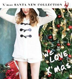 ハロウィン コスプレ サンタ ボディーライン クリスマス 大きいサイズ サンタコス コスチューム サンタクロース かわいい 衣装 長袖ふわ モコトナカイワンピース ハロウィンコスチューム ハロウィンコスプレ あす楽 ハロウィンコスプレ