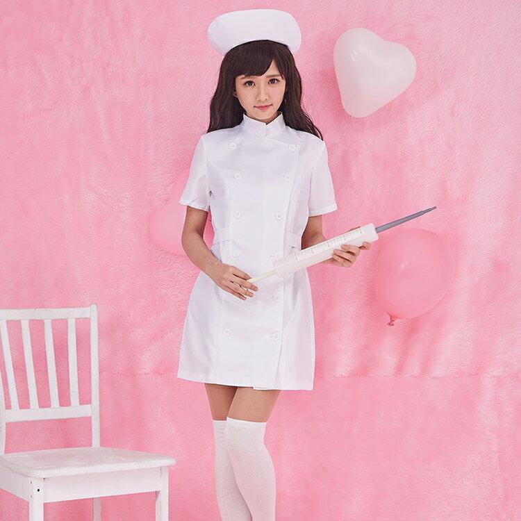 コスプレ 衣装 癒しナース コスチューム一式 看護婦 制服 レディース 病院 白衣 ミニスカ b1046