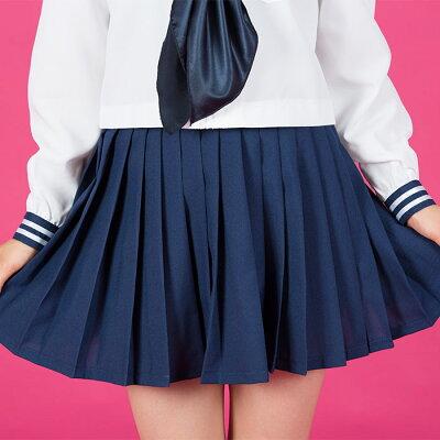 長袖セーラーコスプレセーラー服制服女子高生ブレザーS〜5Lサイズあり3点セットcostume226衣装
