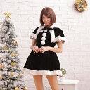 サンタコスチュームラブリーフード コスプレ クリスマス セクシー衣装 M〜2Lサイズあり 5色展開 2点セット cos…