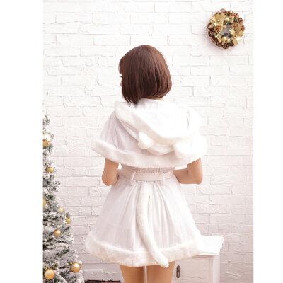 【Mフリー】スノーラヴァーズサンタコスプレクリスマスセクシー衣装M〜Lサイズあり3色展開3点セットcostume753衣装