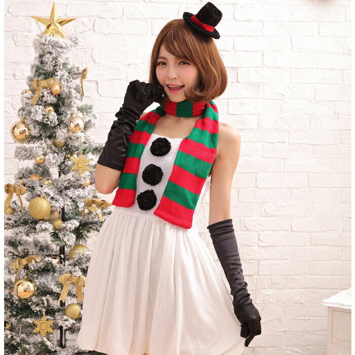 【Mフリー】サンタコスチューム コスプレ クリスマス セクシー衣装 4点セット costume922 衣装