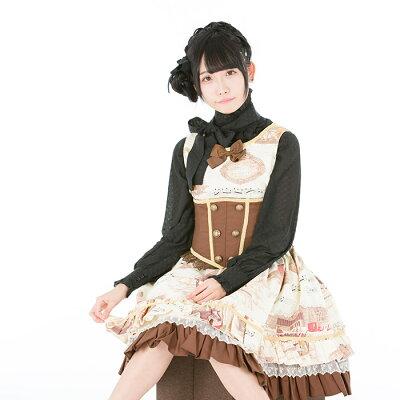 モーツァルトジャンパースカートL589ゴスロリ♪ロリータ♪パンク♪コスプレ♪コスチューム♪メイド衣装