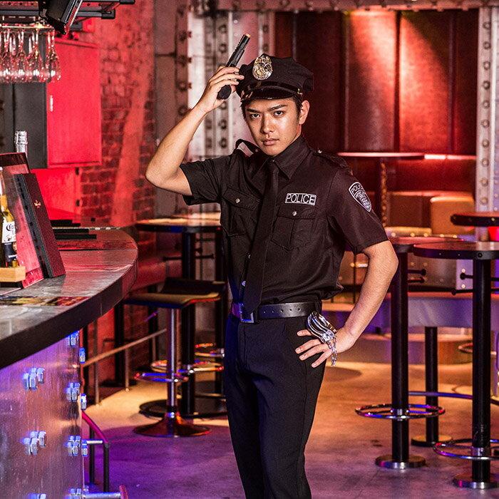 ポイント10倍 ハロウィン コスプレ ハロウィン 衣装 子供 男の子 コスチューム一式 ジェイソウルポリス ポリス メンズ メンズ ポリス 警察 ハロウィン UNFT-0195
