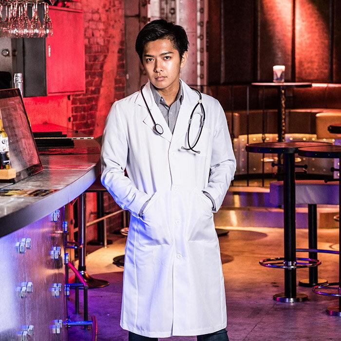 ポイント10倍 コスプレ コスチューム一式 プレイドクター 医者 メンズ メンズ ドクター 医者 白衣 ハロウィン UNFT-0205H
