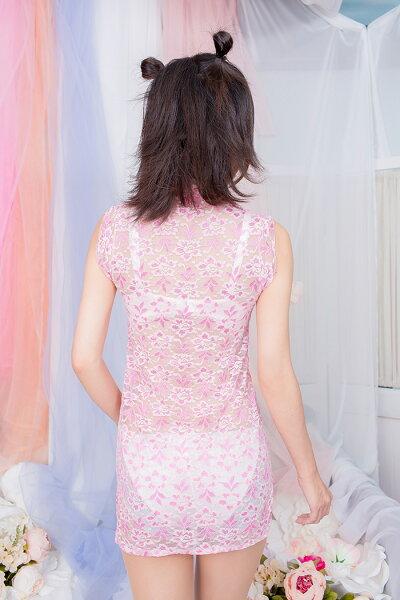 コスプレ衣装コスプレコスチューム胸開き総レースチャイナUNFT-0222コスプレチャイナドレスコスプレ