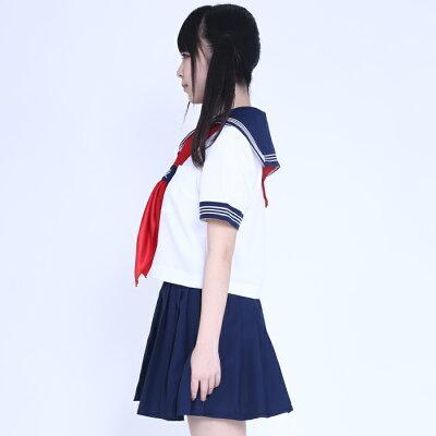 コスプレ制服セーラーコスチュームセーラー服女子高生制服ブレザーコスプレ衣装S〜7Lサイズあり3点セットハロウィン仮装costume231