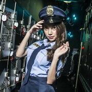 コスプレポリス6点セットM〜4Lサイズあり警察警官婦警制服コスチューム一式costume723衣装