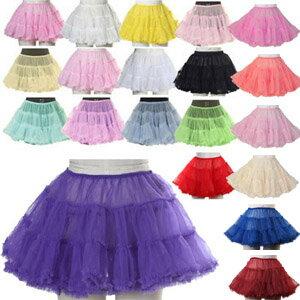 パニエ ボリューム 大人 スカート チュール パーティードレス コスプレ コスプレ衣装 制服 コスチューム 全20色展開 衣装