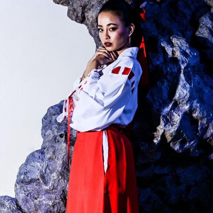 コスプレ 巫女 和服 着物 大きなサイズ M L 2L 3L 4L コスチューム 激安通販 仮装衣装 レディース コスプレ衣装