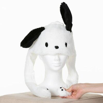 ハロウィンコスプレサンリオ公式ポチャッコぴこぴこ帽子耳が動く帽子かわいいぴこぴこピコ耳可愛い流行TikTokIntagramインスタハロウィンコスチュームハロウィンコスプレあす楽