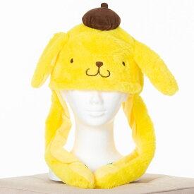【店内半額セール中】 【サンリオ公式】ポムポムプリンぴこぴこ帽子 耳が動く帽子 かわいい ぴこぴこ ピコ耳 可愛い 流行 TikTok ポムポムプリン インスタ Instagram