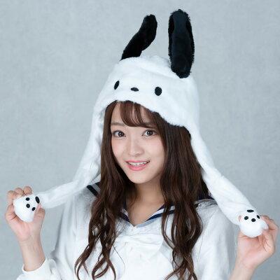【サンリオ公式】ポチャッコぴこぴこ帽子かわいいぴこぴこピコ耳可愛い流行TikTokInstagramインスタ