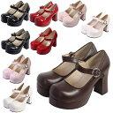 ワンストラップオデコヒールパンプス フォーマル靴(女子用)発表会 結婚式 卒園式 卒業式 入学式 22.5〜27.0サイズあり 9色展開 s524