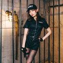 ハロウィン コスプレ 衣装 仮装 ポリス 制服 衣装 コス コスチューム 警官 警察 婦警 婦人警官 ミニスカポリス swat …