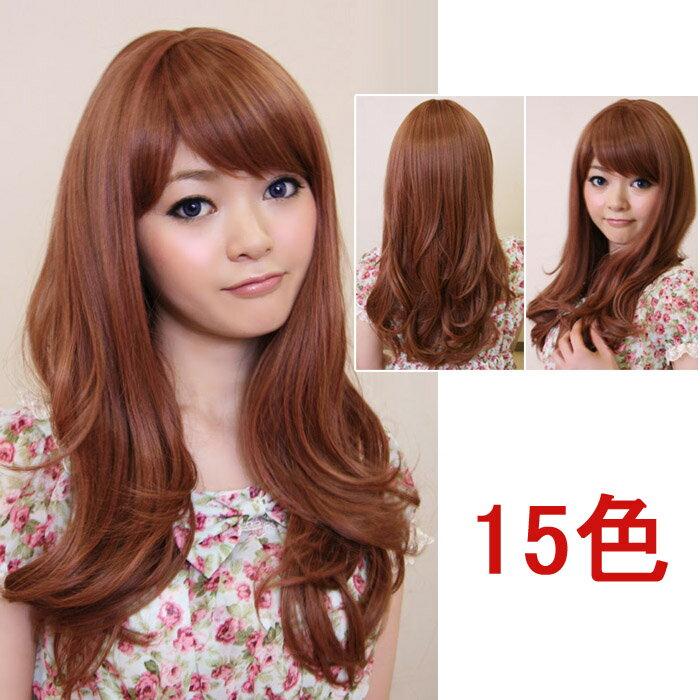 ウイッグ フルウィッグ 耐熱 wig カラー展開 ゆるふわ ロング カール 巻き髪 コスプレ w064 衣装