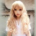 ウイッグ フルウィッグ 耐熱 wig カラー展開 ゆるふわ ロング カール 巻き髪 コスプレ w179