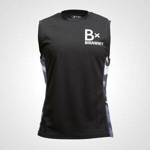 B×BRAWNY DRY ノースリーブ1B×BRAWNY DRY ノースリーブ1 M機能性ウェア 速乾タイプ 吸汗 クールダウン トップス シャツ ランニング ジョギング マラソン スポーツウェア トレーニングウェア ク