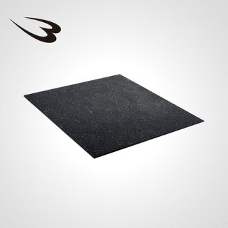 Rubber mat 2 cm thick floor protection sound-proofed home training machine stable weight weight heavy floor wound lay machine misalignment prevention gym gym hard rubber