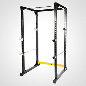 ハードパワーラック2 ダイエット 筋トレ トレーニング用品 高さ調整 安全安心 スクワットセイフティスタンド バーベル シャフトストッパー スクワットトレーニング 組立式 トレーニングア