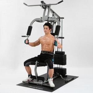ホームジムDX マルチジム 筋トレ 大型マシン ダンベル ベンチプレス トレーニングマシン 筋トレ 筋肉 自宅 握力 筋力トレーニング 下半身 筋力アップ 懸垂マシン マシン フィットネス 家庭用