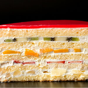 誕生日ケーキ 送料無料 デコレーション ハートの可愛すぎる萌え断ケーキ 6号 〔 誕生日 バースデーケーキ 誕生日ケーキ お祝い お礼 お返し お菓子 ケーキ 〕冷凍便配送 お取り寄せスイーツ