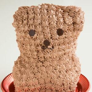 プレゼント アニマル ケーキ クロクマケーキ (ショコラ味) 送料無料 冷凍便 / 動物 キャラクター バースデーケーキ 誕生日 かわいい ギフト 贈答 お取り寄せスイーツ