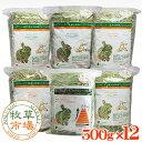 牧草市場 チモシーセット牧草(大)各1kg × 6種類