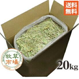 ◇牧草市場◇オーツヘイ(スーパープレミアムグレード)20kg袋入 業務用