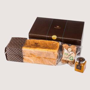 七五三内祝 御歳暮 メッセージカード デニッシュ食パン ボローニャ 3200円ギフト 出産内祝