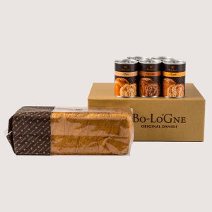 【送料無料】缶deボローニャセット 防災 備蓄 非常食 長期保存 デニッシュ食パン