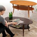 アジアン ローテーブル 木製家具 木製テーブル オーバルテーブル ブラウン 天然木 机 つくえ 丸い 円形 アンティーク …