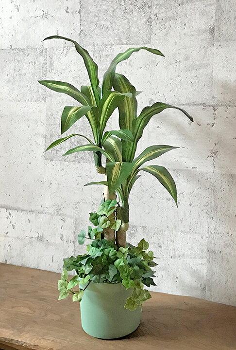 幸福の木65cm【送料無料】【数量限定】【造花】【人工観葉植物】【光触媒】【RCP】
