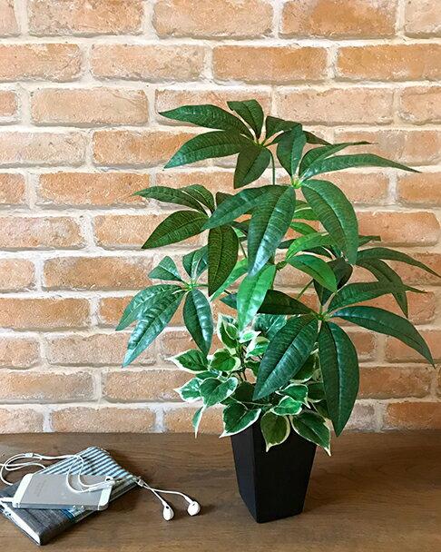 パキラ・60cm【送料無料】【数量限定】【造花】【人工観葉植物】【光触媒】