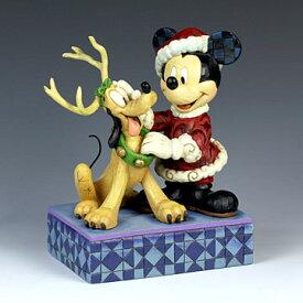 ENESCO エネスコ ディズニーコレクション サンタミッキー&プルート(ベストフレンド) #4039033 #ens009047